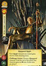Ser Jaime Lannister Game of Thrones Card aGoT FFG Promo LCG