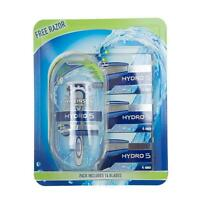 Brand New and Boxed Wilkinson sword Hydro 5 Razor 3 Pack Replacement with Razor