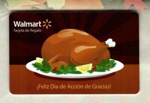 WALMART ( Puerto Rico ) Happy Thanksgiving, Turkey 2011 Gift Card ( $0 )