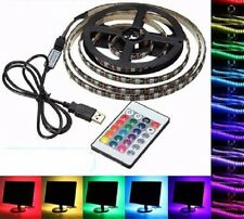 2m Bandeau Led Ruban Flexible USB nonEtanch,60Led 5050smd RGB+MiniControl+Manett
