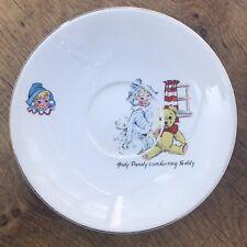 Andy Pandy Vintage Plate/ Saucer- Keele Street Pottery