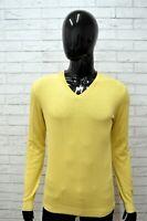 Maglia BURBERRY Uomo Taglia Size S Maglietta Shirt Man Manica Lunga Cotone Slim