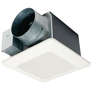 Panasonic WhisperCeiling DC Fan with Pick-A-Flow Speed Selector 110/130 or 150