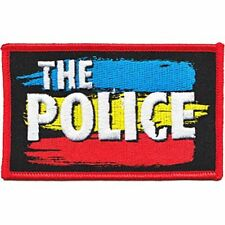 The Police Logo - Embroidered Patch - Brand New - Music Band 4162
