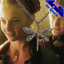 Sansa Stark's Dragonfly Pendant Chain The Game Of Thrones Necklace Cosplay