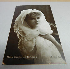Miss Ellaline Terriss Edwardian actress posted 1904 art