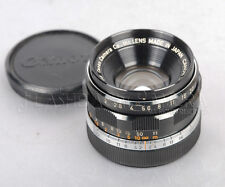 Canon 35mm f2 for Leica Screw LTM from JAPAN fit M9 M240 MM from JAPAN #012689