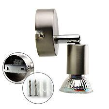 LED Deckenlampe Spot Strahler GU10 Wandlampe Deckenleuchte Lampe 1 Strahler