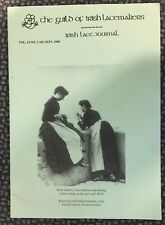 Irish Lace Making The Guild Of Irish Lacemakers Journal Vol 14 No 2 Sept 2000