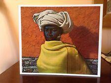 ORIGINAL RARE Tretchikoff Swazi Girl 1960s Print - Vintage Kitsch Art Print