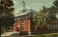 New Canaan CT Town Hall c1910 Postcard