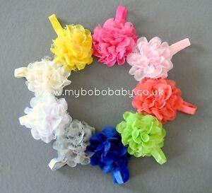 Baby Girls Toddler Oversized Flower & Lace Headband