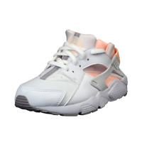 Nike Huarache Run PS 704951 110 Little Kids Running Shoes White Girls Leather DS