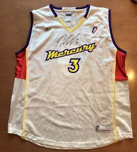 Diana Taurasi Signed Phoenix Mercury WNBA Game Issued Jersey XL