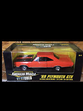 1969 Plymouth GTX Orange 1:18 Ertl American Muscle 32419