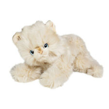 Adorable Beige Kitten by Piutre, Made in Italy, Plush Stuffed Animal NWT