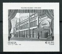 Italy 2018 MNH Elisio Theatre 1v S/A Set Theatres Architecture Stamps