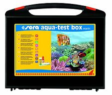 Sera Aqua Testbox Marin Test Suitcase for Salzwasseraquarien
