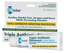 2 Tubes of Triple Antibiotic + Pain Relief Dual  (Compare to Neosporin) 1 OZ
