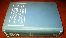 1930-40 1941 Dykes Automobile Book Theory Repair Construction Steam/Truck/Cycle