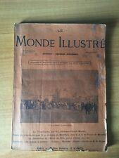 LE MONDE ILLUSTRE 1902 contenant des numéros La Vie Illustrée, du Monde