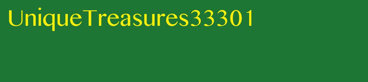 UniqueTreasures33301