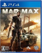 MAD MAX SONY PS4 PLAYSTATION JAPANESE NEW JAPANZON