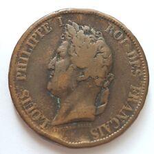Pièce 10 centimes Colonies Francaises 1839. (AV1965)