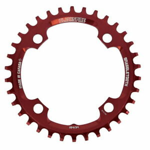 Snaggletooth Chainring 4 3/32in 32t Red Blackspire Mountain Bike