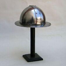 Kattle Hat Armor Helmet ~ Medieval Knight Crusader Spartan ~ Steel Armer