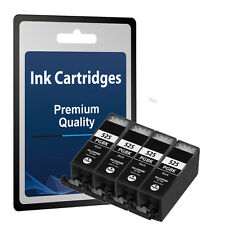4 Black Ink Cartridges for Canon Pixma IP4850 IP4950 MG5150 MG5250 MG5350