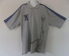 -RARE~Adidas KAREEM ABDUL JABBAR SKYHOOK jersey-POLO Shirt~Mens sz 3XL