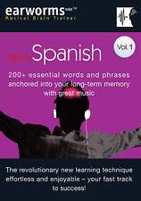 Berlitz Earworms CD Booklet Rapid Spanish Volume 1, , Good Book