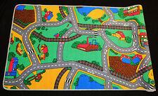 Dess. 7)  Kinderteppich Teppich Straßen Spielteppich 95cm x 200cm