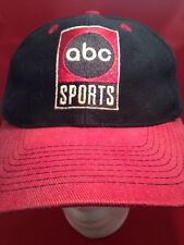 Vintage ABC SPORTS Hat Black And Red RARE