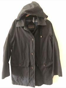 Pendleton Unisex  Navy Blue Hooded Full Zip Jacket Size Small