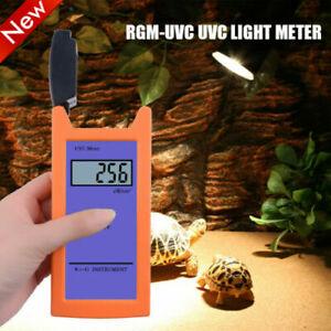 Digital RGM UVC Light Meter Spectrum 220-280NM UV Radiation Reptile Measurement