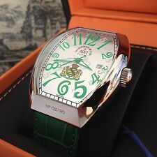 "Limit. Serie ""Saxonia"" * Basis: Cintree Curvex Franck Muller Gr. * No. 34 von 80"