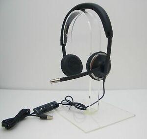 Plantronics Blackwire C520 UC Binaural USB Corded UC Computer Headset 88861-01