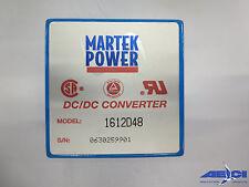 MARTEK POWER 1612D48 DC-DC CONVERTER MODULE