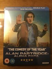 ALAN PARTRIDGE: ALPHA PAPA Steelbook DVD and Bluray Brand New Sealed
