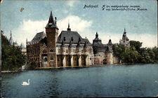 Budapest Ungarn Magyarország AK ~1910 Mezőgazdasági Múzeum Museum Landwirtschaft