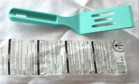 Pampered Chef TEAL MINI NYLON SERVING SPATULA - New Color - Strong & Flexible