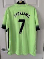 manchester city football shirt xl