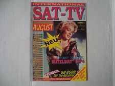 MARILYN MONROE rare austrian SAT TV 1992 cover magazine