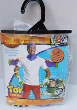 New Disney Buzz Lightyear Adult Kit One Size Toy Story Costume All Year 14+