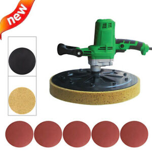 Electric Concrete Mortar Trowel Masons Mixers Wall Smoothing Polishing Machine