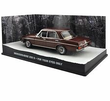 JAMES BOND MERCEDES BENZ 200D FOR YOUR EYES ONLY - 1:43