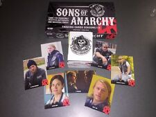 Sons Of Anarchy Trading Cards Seasons 1-3 Complete 100 Card Base Set Brand New.
