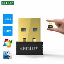 EDUP 150Mbps USB WiFi Dongle Wireless Adapter For Notebook Laptop PC Desktop
